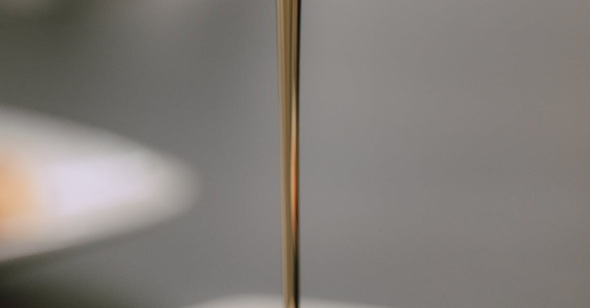 A lamp on a table